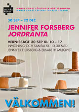 Jennifer Forsberg - Jordränta - The Wanås Foundation